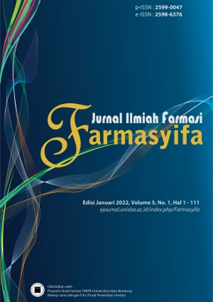 Cover Farmasyifa Vol. 4 No. 1